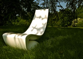 Fibre Glass Easy Chair